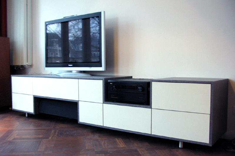 verrijdbare tv kast. Black Bedroom Furniture Sets. Home Design Ideas